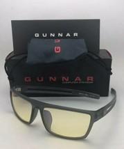 New GUNNAR Computer Glasses VALVE 59-16 132 Smoke Grey Frame w/Amber Yellow Lens