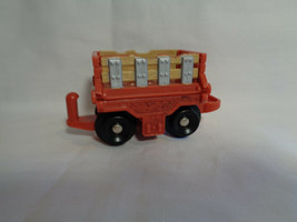 2006 Mattel Wagon Train Freight Car Sides Fold Down Plastic - $1.49