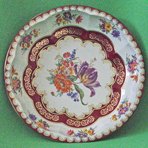 Beautiful Vintage (1971) Daher (England) Round Metal Bowl Or Serving Tray - $4.95