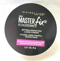 Maybelline Master Fix By FaceStudio Setting Perfecting Loose Powder Set Mattify - $10.84