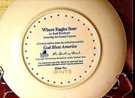 Vintage Plate AB 214 Where Eagles Soar image 2