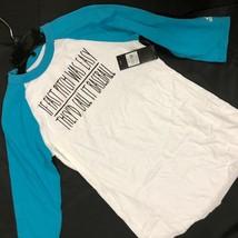 Nwt Adidas Bianco & Baseball¾ Maniche Baseball Camicia da Donna Veloce Pece Was - $6.96