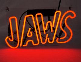 "New Jaws Bar Wall Decor Acrylic Back Neon Light Sign 14"" Fast Ship - $60.00"