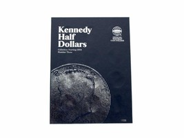 Kennedy Half Dollar # 3, Starting 2004 Coin Folder by Whitman - $5.99
