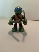 """2014 Playmates TMNT Ninja Turtles Half-Shell Heroes Talking Leonardo 6"""" ... - $9.69"""