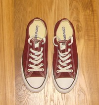 Converse All Star Burgundy Low Top Chuck Taylor Canvas Sneakers~M-6/W-8~ - $35.00