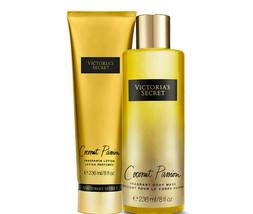 Victoria's Secret Coconut Passion Fragrance Lotion + Fragrant Body Wash ... - $35.23