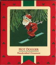 1987 - New in Box - Hallmark Christmas Keepsake Ornament - Hot Dogger - $4.45