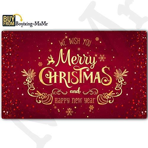MsMr Doormat Entrance Floor Mat Funny Doormat Home and Office Decorative Indoor/
