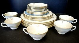 24 Pieces - Service for Four Five Piece Lenox Place Settings  - Rhodora Pattern - $94.99