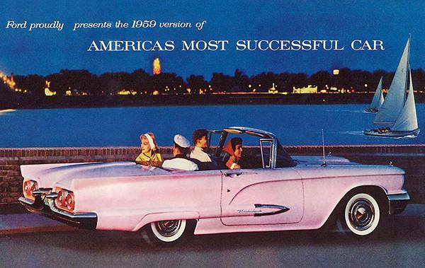 Primary image for 1959 Ford Thunderbird - America's Most Successful Car - Promotional Poster