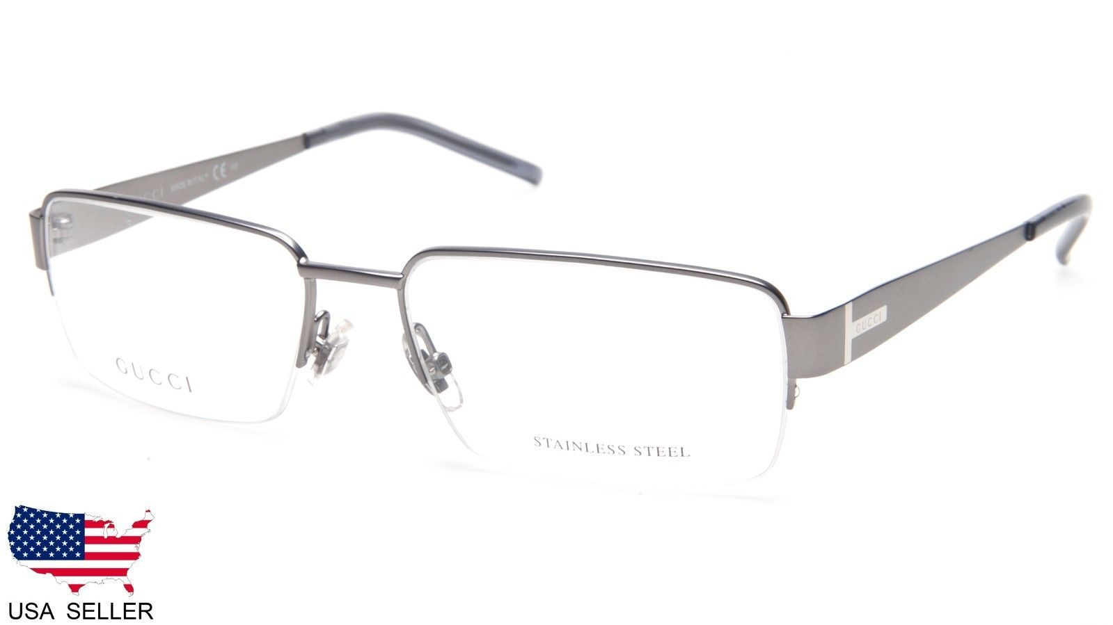 bab0a0991dcc New Gucci GG2209 D8Y Matte Grey Eyeglasses and 50 similar items