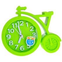 Nostalgia Noiseless Alarm Clock Kids' Birthday Gift Student Clock Green - $16.54
