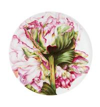 Vista Alegre Portugal Porcelain FLORIS PLATE PEONY 21129570 Brand New - $2,601.85