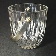 1 (One) Mikasa Park Lane Cut Lead Crystal Ice Bucket With Handel Discontinued - $74.99
