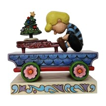 Jim Shore Peanuts Schroeder Train Car Christmas Figurine New with Box - $24.25