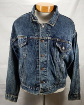 Mens Large Levis Denim Trucker Jean Jacket 75068-0227 Made in USA - $41.61