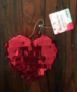 VALENTINES DAY HEART LOVE MINI PERSONAL PINATA PARTY FAVOR SUPPLIES PARTY DECOR - $8.91