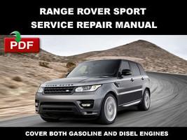 2013 2014 2015 Range Rover Sport Service Repair Workshop Maintenance Shop Manual - $14.95