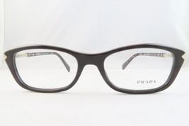 PRADA VPR 04P DHO-1O1 Brown New Authentic Eyeglasses 54mm - 173 - $75.71