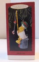 HALLMARK 1993 Keepsake Christmas Ornament Fills the Bill Pelican Fishing... - $9.69