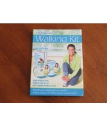 Weight Watchers Walking Kit Walk at Home DVD On the Go CD +Walking Guide... - $12.99