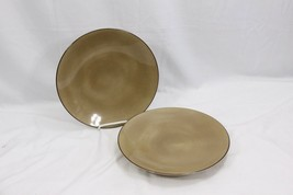 "Nautica Island Shores Sand Dinner Plates 11"" Set of 2 - $37.23"