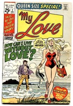 MY LOVE SPECIAL #1 1971-LOVE ROMANCE MARVEL-comic book-Swimsuit cover - $63.05