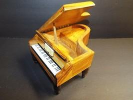 VTG Reuge Grand Piano Music Box Plays Sound of Music Made Switzerland Jewelry - $39.59