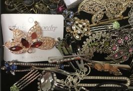 Lot 62 Hair Accessories Clip Barrette Headband Ponytail Ornament Pin Women image 2