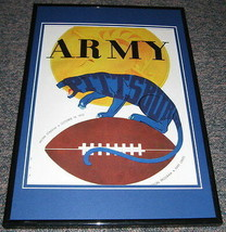 1952 Army vs Pitt Pittsburgh Panthers Football Framed 10x14 Poster Repro - $32.36