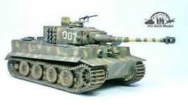 Tiger I Late Production WW2 1:35 Pro Built Model - $272.25