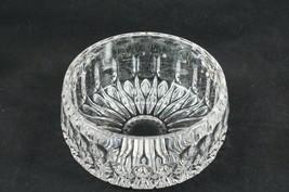"Gorham Nachtmann Althea Kingsbury 6 1/4"" Lead Crystal Serving Bowl Vertical Cut - $28.54"