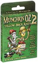 Munchkin Yellow Brick Raid Card Game - $14.19