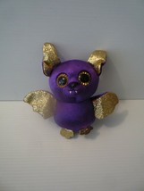 "Ty 2018 Beanie Boos Count the Purple & Gold Halloween Bat, 6"" - $5.00"