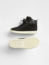 New Gap Boys Black Classic High Top Weave Upper Sneakers 13 1 Youth Size - $34.99