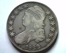 1822 BUST HALF DOLLAR O.110 VERY FINE VF NICE ORIGINAL COIN BOBS COINS F... - $165.00