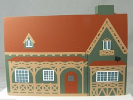 Cottage for a Country Clergyman Cat's Meow Village Collectible 19th Cent... - $8.79