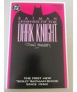 Batman Legends of the Dark Knight (1989) #1 Signed by John Beatty VF Ver... - $18.81