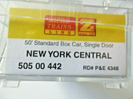 Micro-Trains # 50500442 New York Central  50' Standard Boxcar Z-Scale image 3