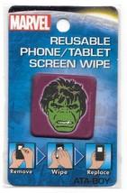 Marvel Comics Incredible Hulk Head Image Reusable Phone/Tablet Screen Wipe NEW - $5.94