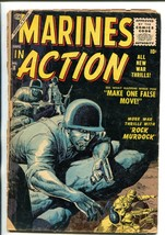 "MARINES IN ACTION #8 ""ROCK"" MURDOCK - SEVERIN COVER '56 FR/G - $18.62"
