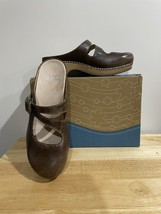 Dansko Britney Burnished Nubuck Chocolate Size 38EU 7.5-8US Women's - $40.00