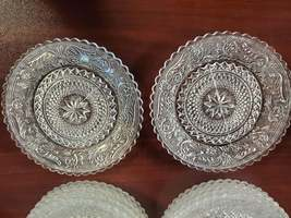 Antique Set of 12 MCM Coasters Duncan And Miller 4 1/2in and One Vintage Cut Cry image 2