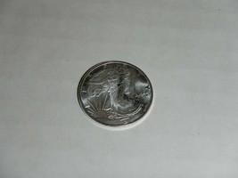 x1 1/10 oz .999 Pure Silver Round ag. Walking Liberty design Coin Token  - $12.86