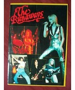 THE RUNAWAYS 1977 JAPAN PERFORMANCE PAMPHLET - $247.50