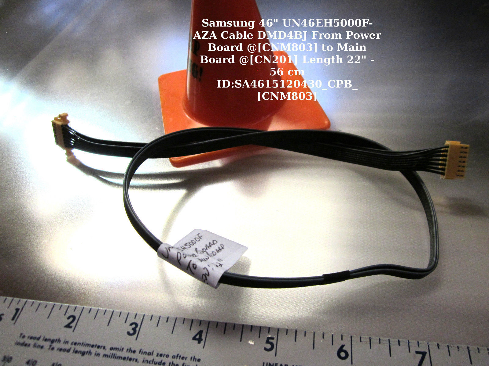 "Primary image for Samsung 46"" UN46EH5000F-AZA Cable DMD4BJ From Power Board @[CNM803] to Main Boar"