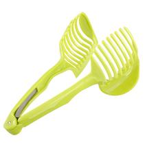 Potato Slicer Tomato Cutter Tool Shreadders Lemon Cutting Holder Cooking... - €7,29 EUR