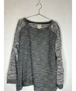 Pre Owned Champion Authentic Athletic Apparel Gray White Sweatshirt Sz 2XL - $17.75