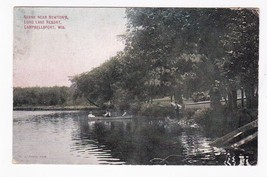 Long Lake Resort Campbellsport, Wis Postmarked Chicago, Il Aug 31 1926 - $1.98